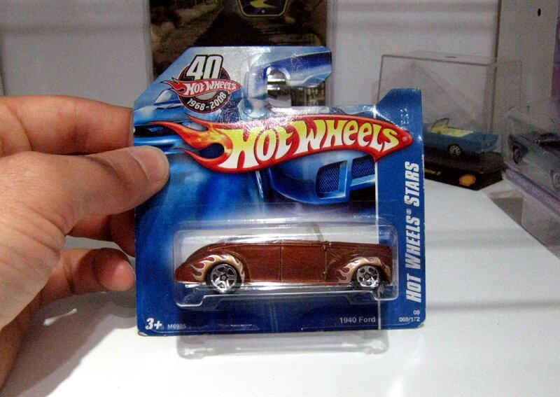 Ford convertible de 1940 (Hotwheels 2008)
