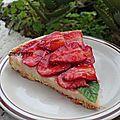 Tarte aux fraises (a la crème pâtissière et crème d'amandes)