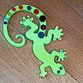 Salamandre ... ou petite bête vévérte !