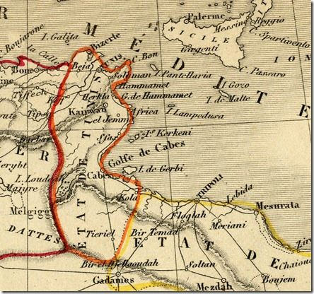 Carte_Tunisie_1843