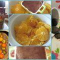 Orange et mousse au chocolat