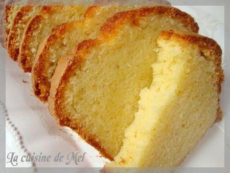 Patisserie gateau quatre quart