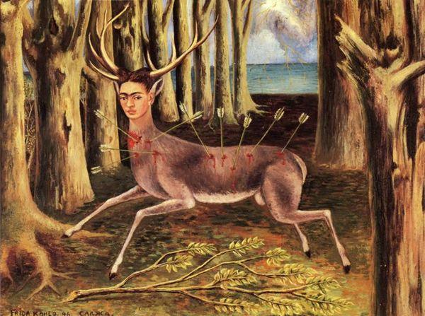 Frida_Kahlo The wounded deer 1946