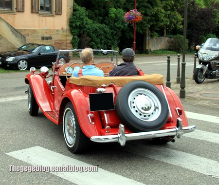 Mg type TD convertible (Retrorencard aout 2012) 02
