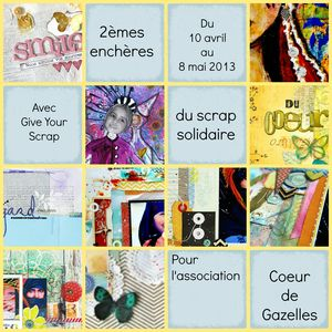 COLLAGE ENCHERES