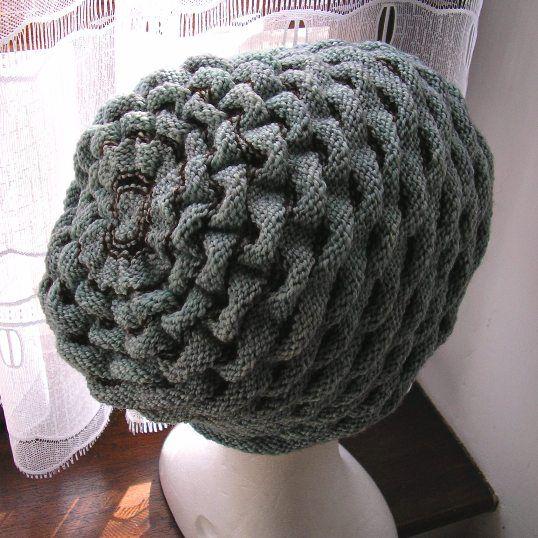 Comment Tricoter Bonnet Slouch