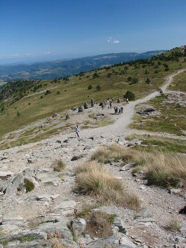 2008 08 21 Sur le sommet du Mont Mézenc