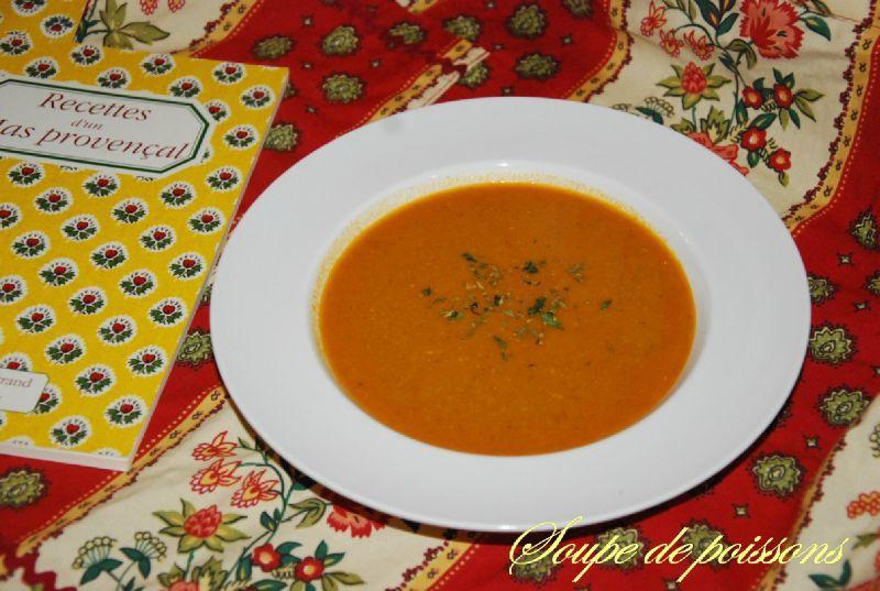 Soupe de poissons ma cuisine jaune citron - Cuisine soupe de poisson ...
