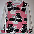 Pyjama chatons pour petite fille...