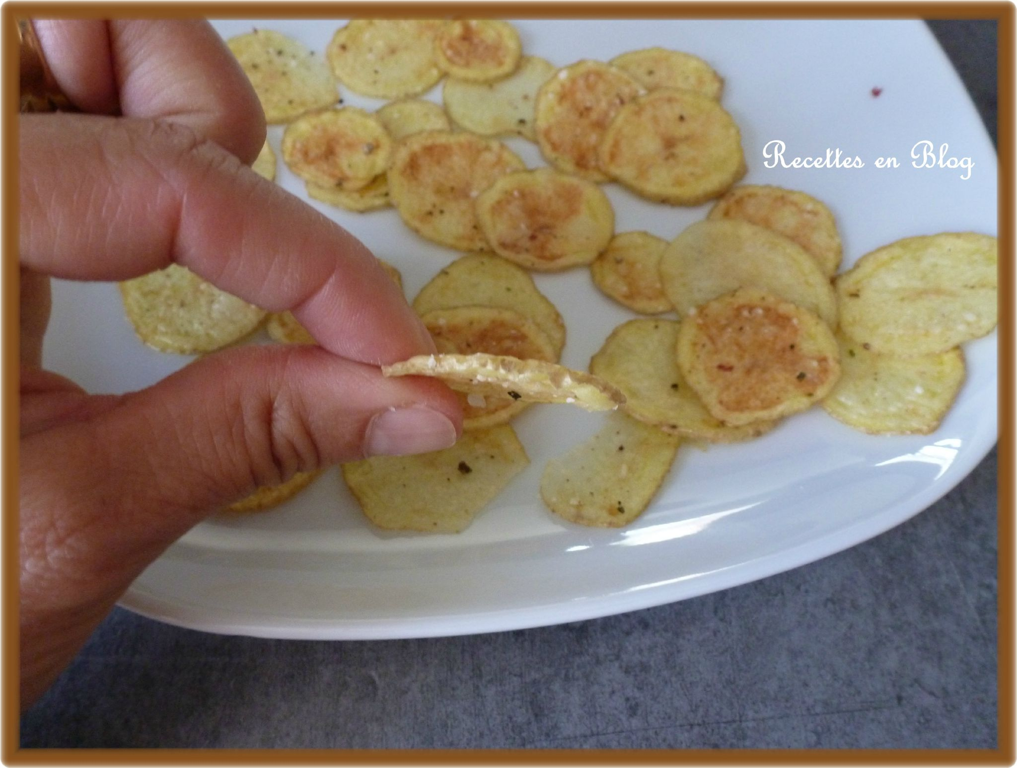 Chips maison aux micro ondes recettes en blog for Chips betterave micro onde