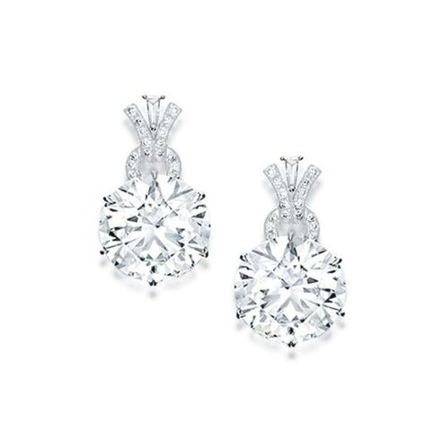 Fine Pair of Diamond Earrings