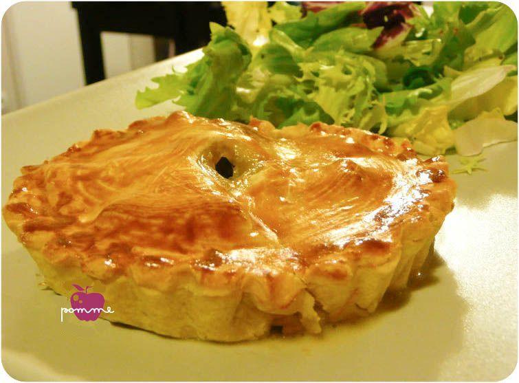 Tourte au chaource dans la cuisine de tallula - Accompagnement salade verte ...