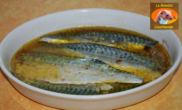 Maquereau marin au citron la belette gourmande - Cuisiner filet de maquereau ...