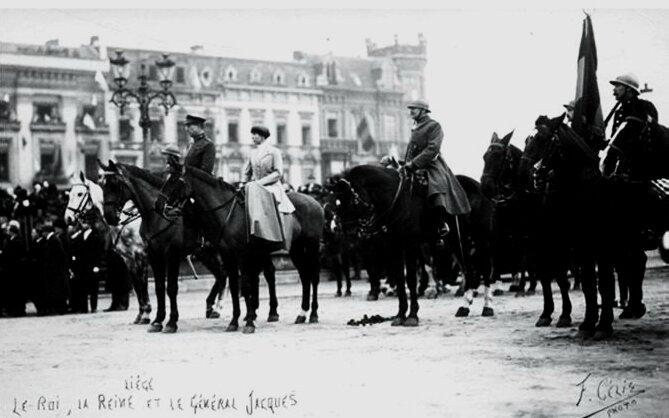 rois belges 1918