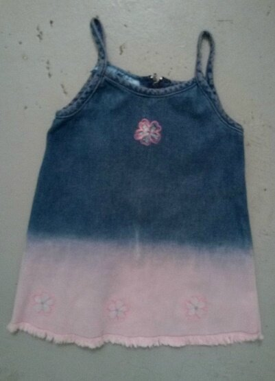 robe jean délavée