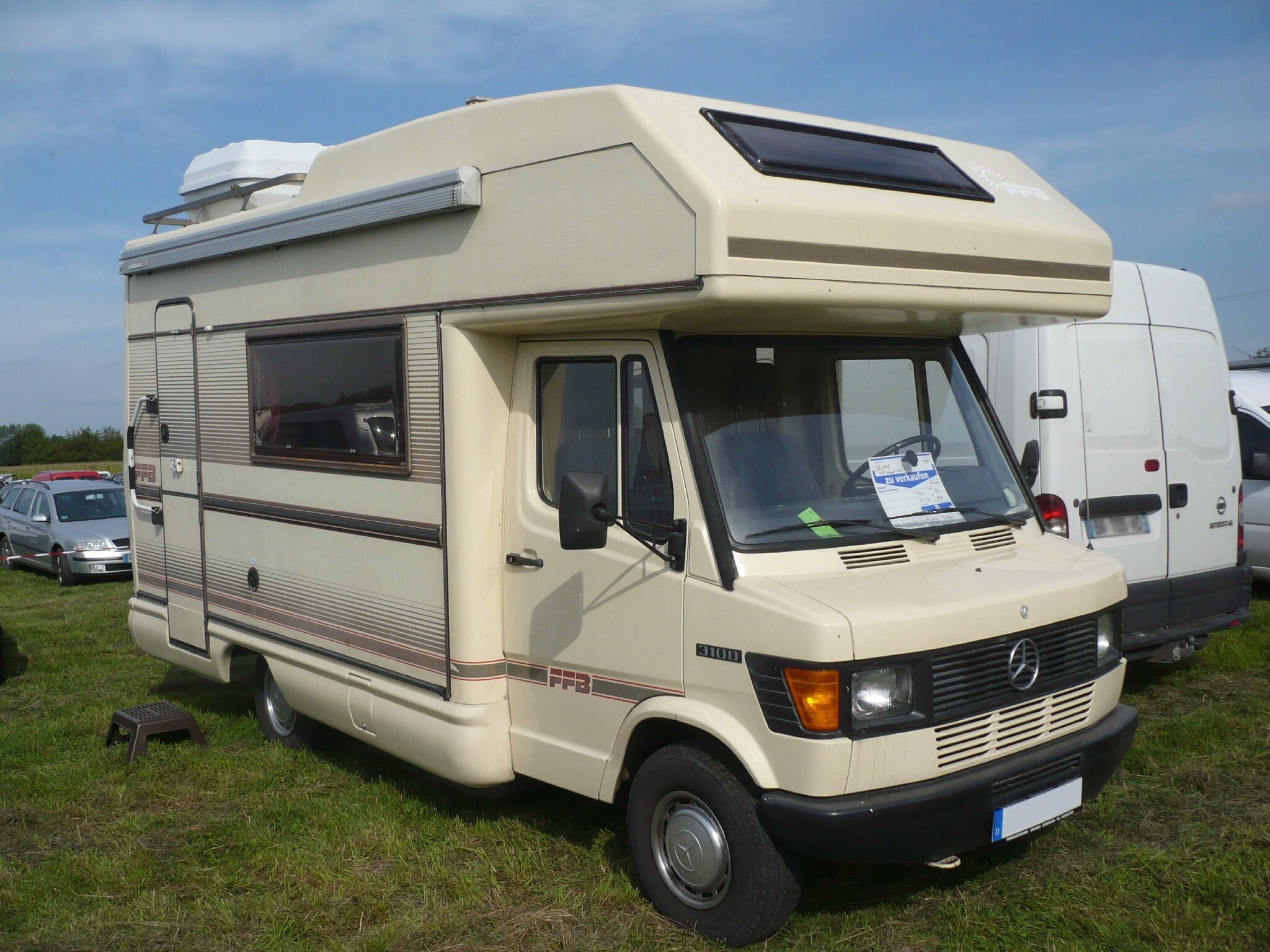 mercedes 310d ffb tabbert europa 560 camping car 1993 vroom vroom. Black Bedroom Furniture Sets. Home Design Ideas