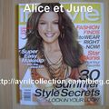 Magazine In Style (juillet 2007)