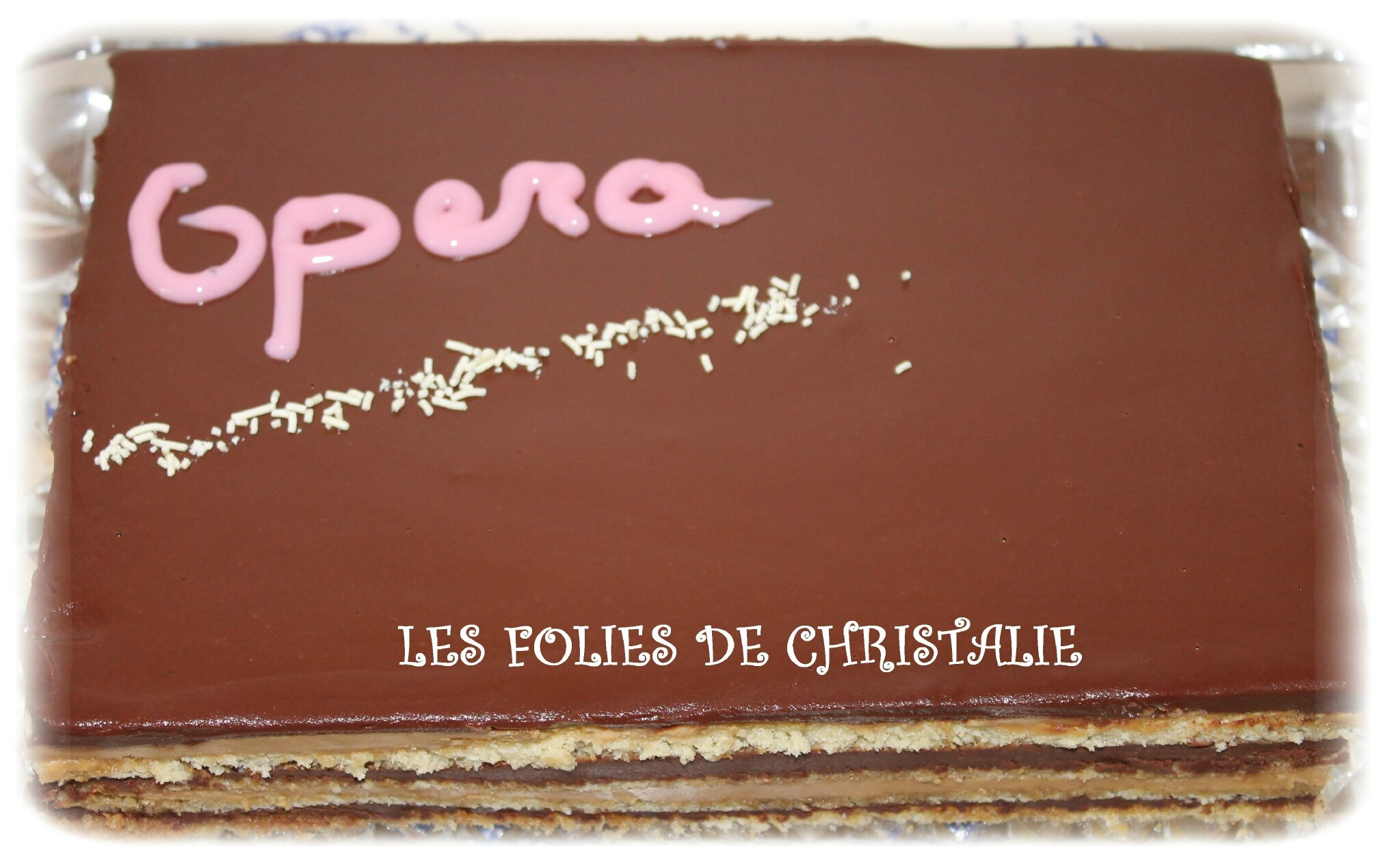 Souvent Opéra - Les folies de Christalie : ou quand la cuisine devient passion EK91