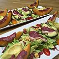 Salade d'été aux magrets
