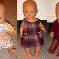 Une garde-robe pour la poupée de Nina