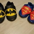 Chaussons pour mes supers heros