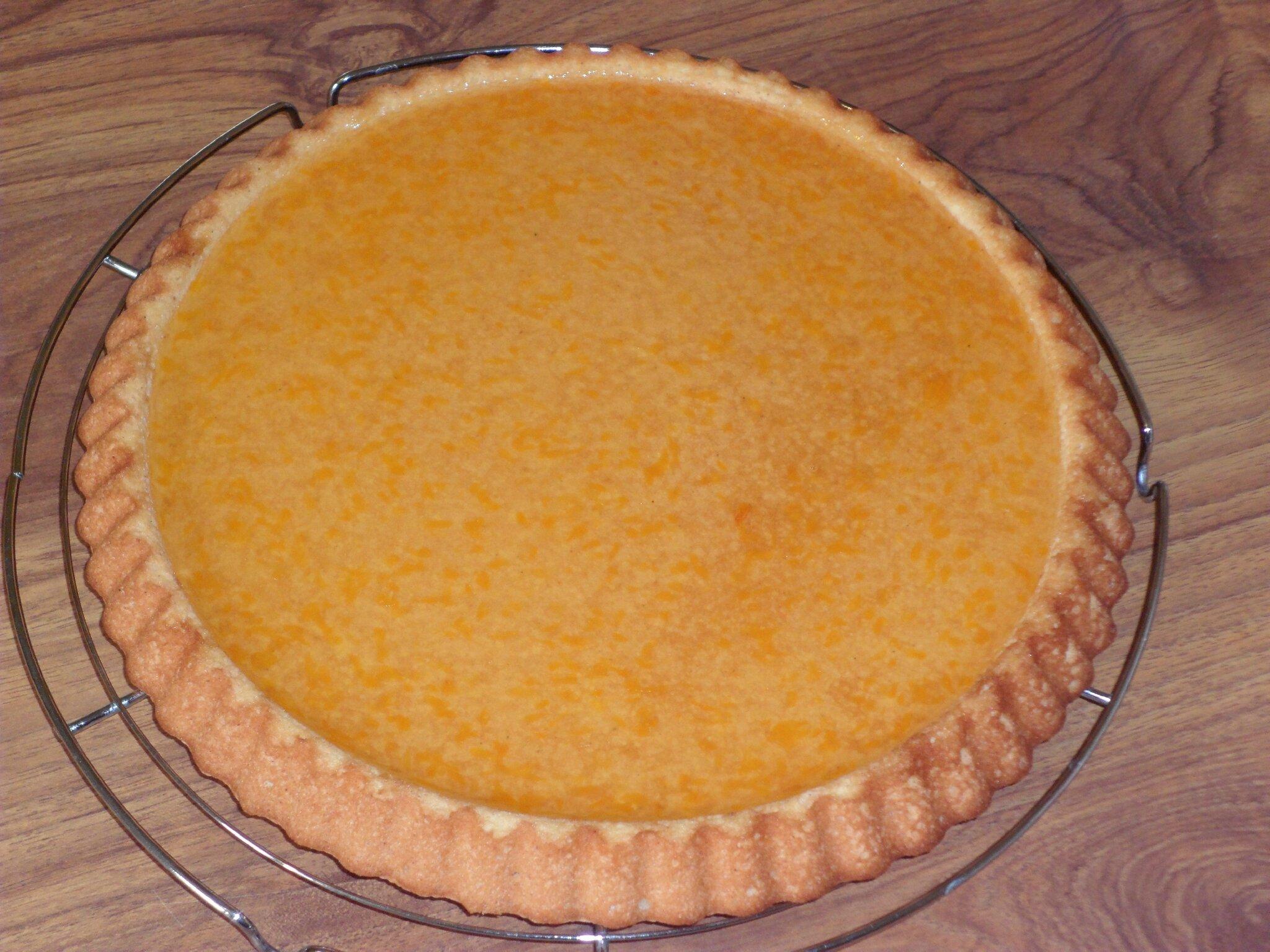 Pim 39 s g ant orange mandarine sandy miam miam - Fond de tarte biscuit ...