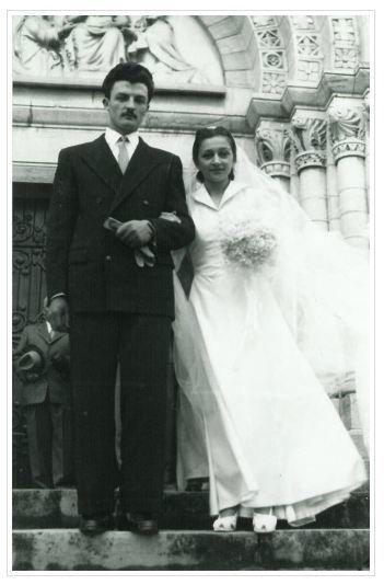 mariage bouboule francoise 1953
