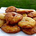 Beignets aux pommes parfumés à la fleur d'oranger, à la cannelle et voir plus