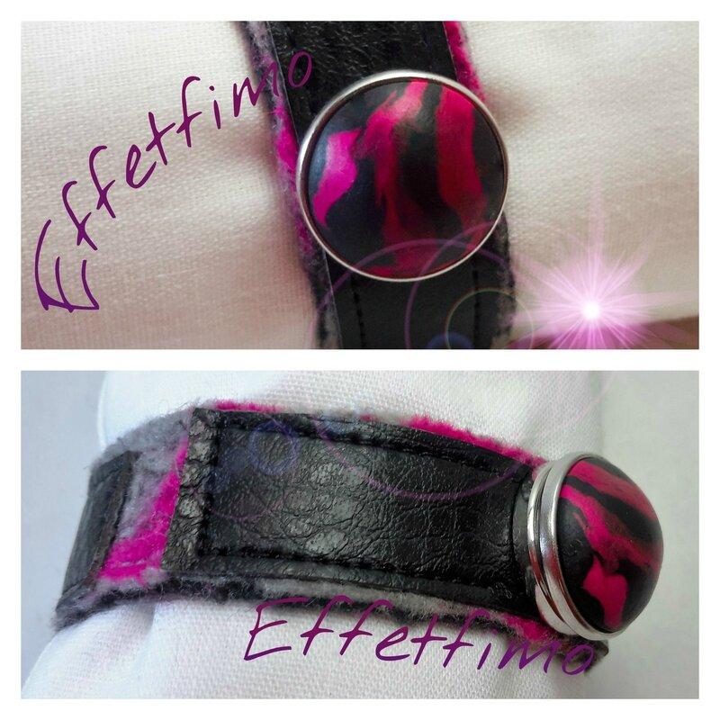 bracelet feutrage
