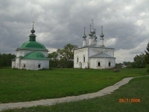 Souzdal - winter and summer churches