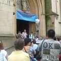 2006 - Occupation de l'Eglise d'Anderlecht