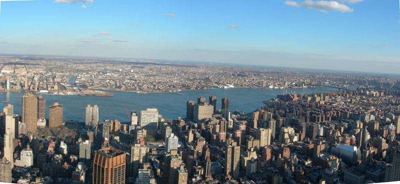 Empire State Building Pano