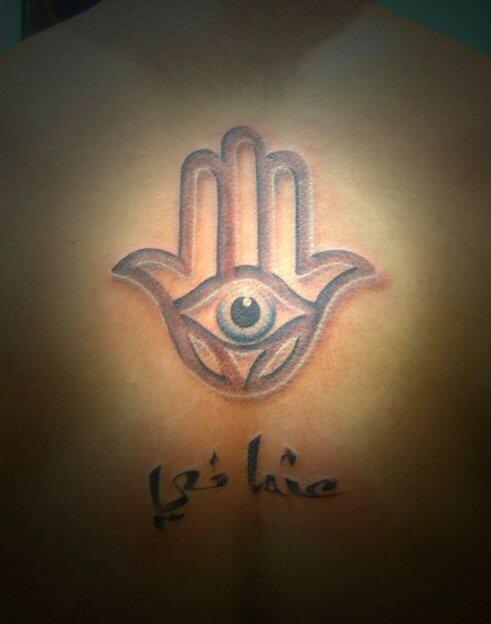 Main de fatma photo de divers bob spikes tattoo - Bougie main de fatma ...