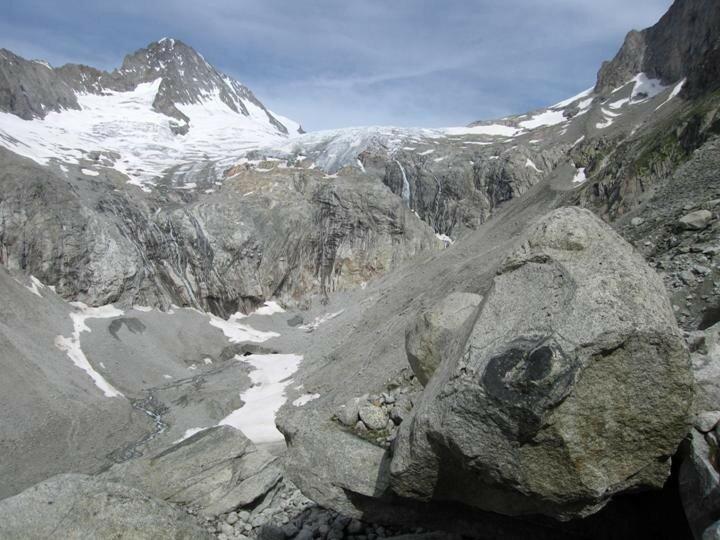Bietschhorn depuis le Baltschiedertal