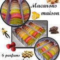 Macarons tout pistache...