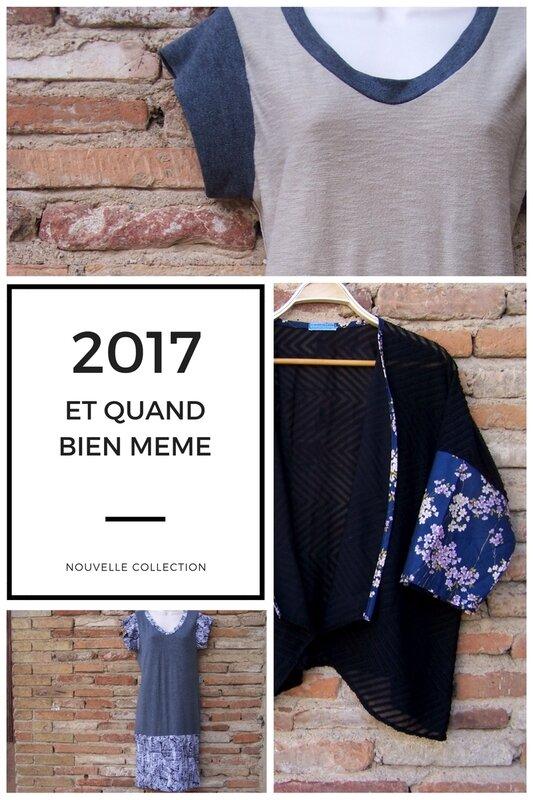 Créations ETQUAND BIEN MEME Collection 2017