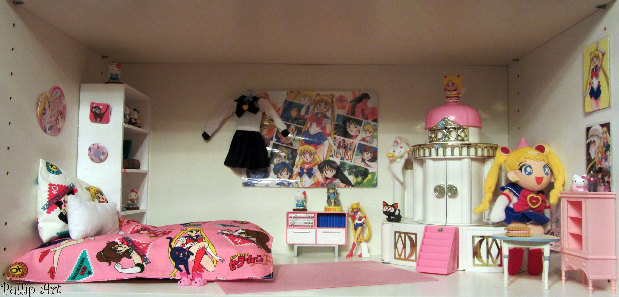 Awesome chambre japonaise manga photos design trends for Chambre kawaii