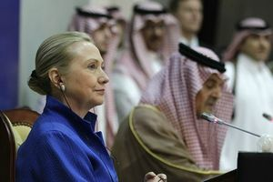Hillary Clinton in Saudi Arabia