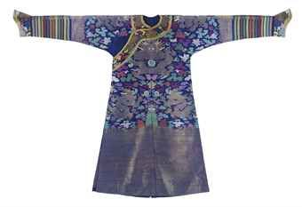 a_blue_summer_gauze_court_robe_qing_dynasty_circa_1900_d5434842h