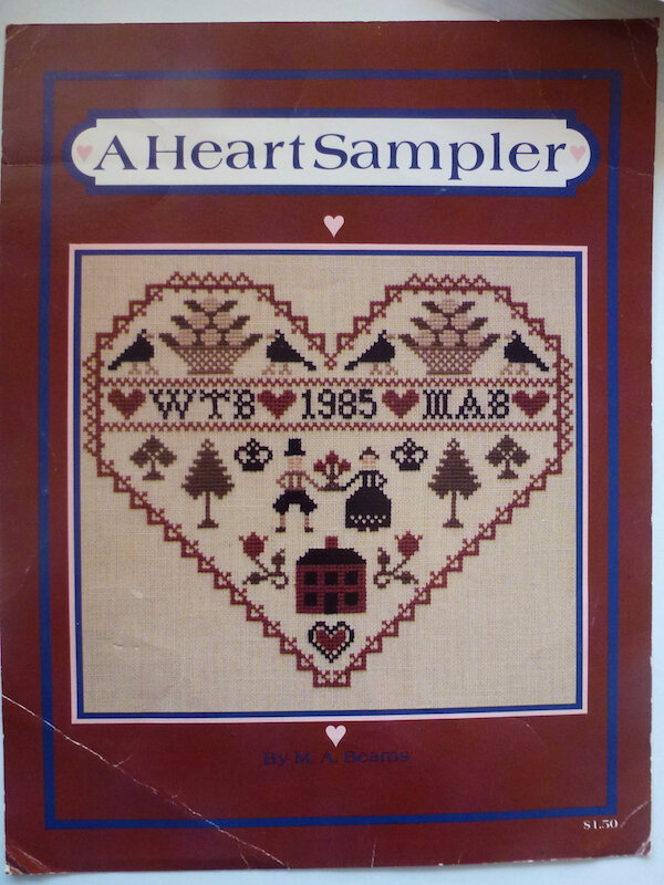 M A BEAMS A HEART SAMPLER