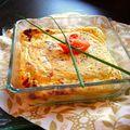Gratin salé, mousseux d'été au fromage blanc