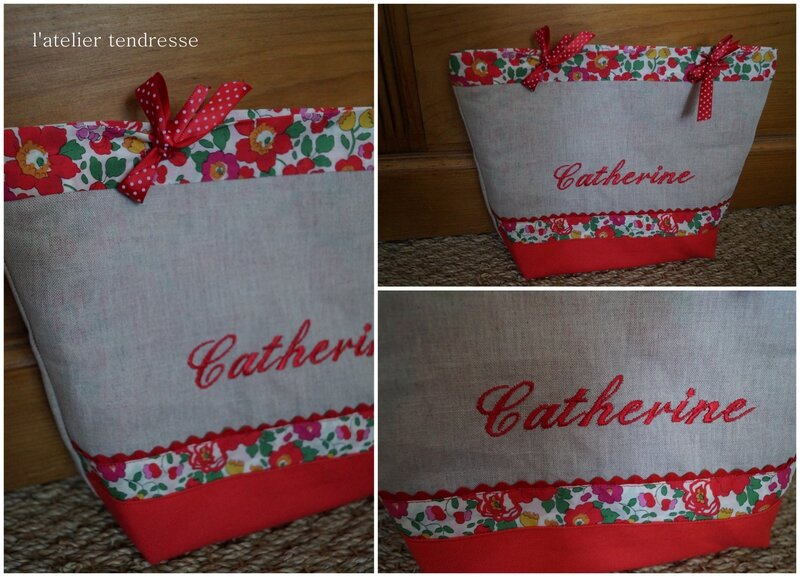 Trousse de toilette Catherine