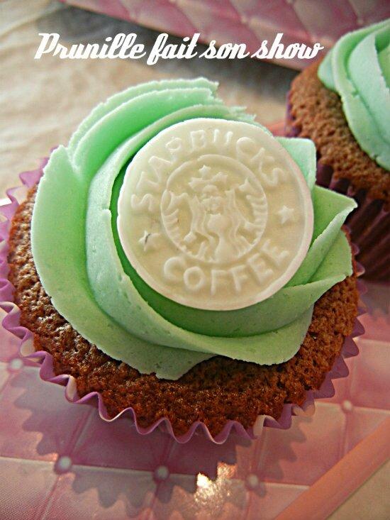 cupcakes starbucks coffee prunillefee