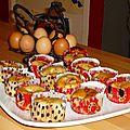Moelleux fraises et ricotta
