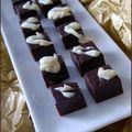 Fudge aux deux chocolats et à la guimauve, sans gluten
