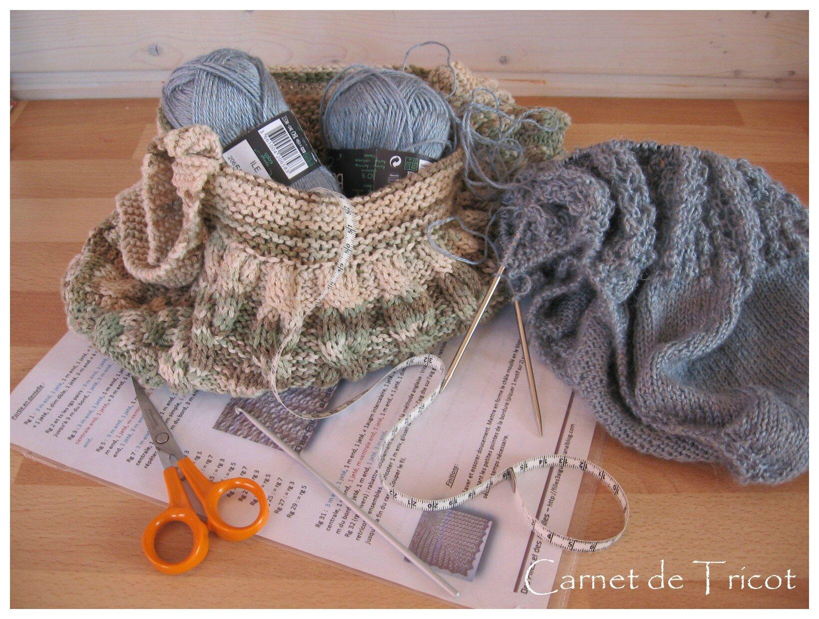 d buter en tricot quatri me et derni re tape avant de d marrer carnet de tricot. Black Bedroom Furniture Sets. Home Design Ideas