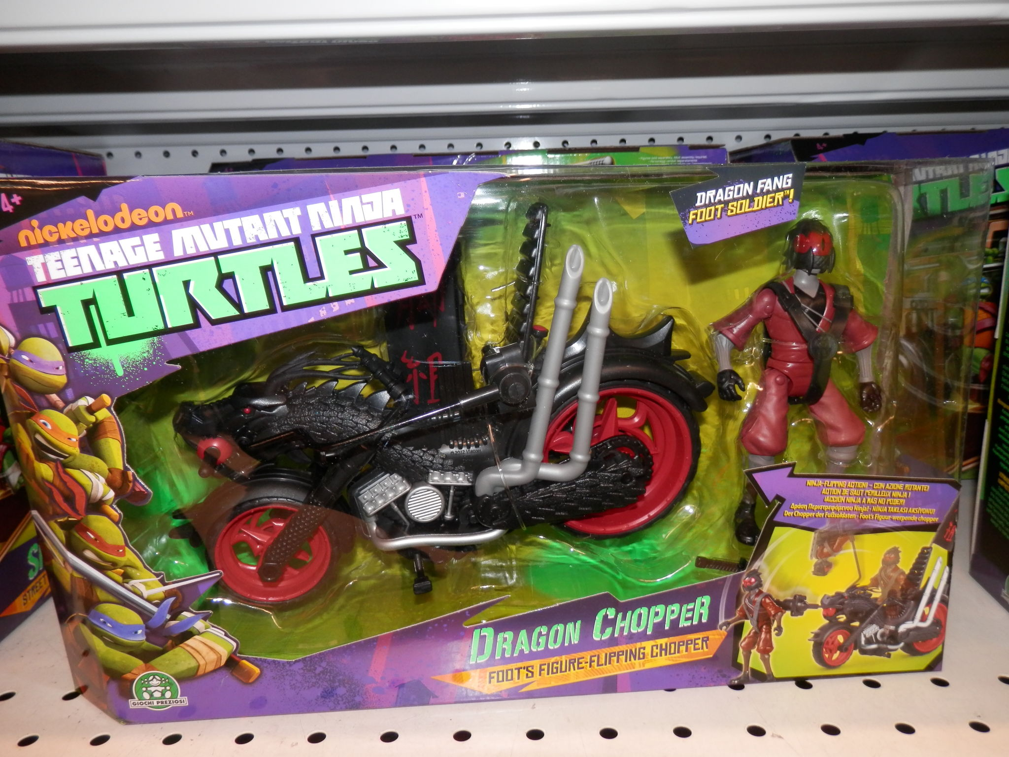 moto tortue ninja dragon chopper 30 p4194790