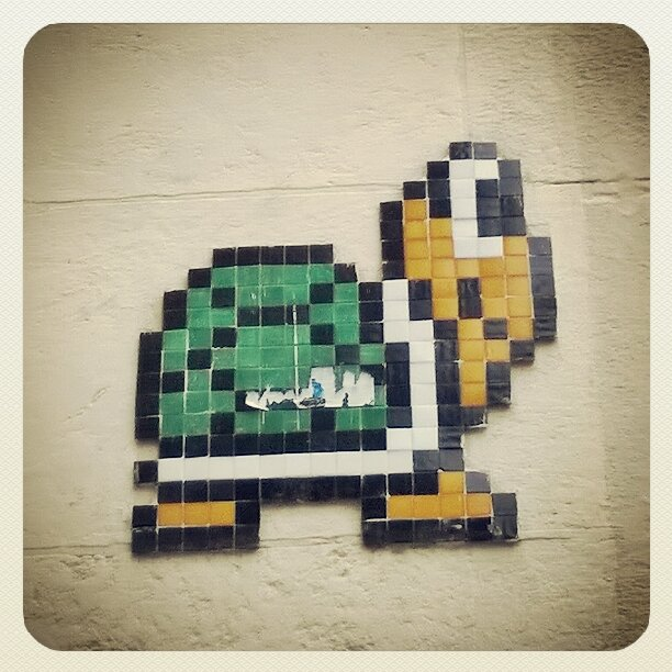 Street Art à Nantes : Mosaïques