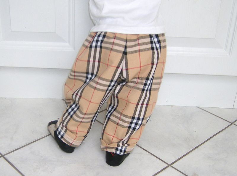 pantalon burberry