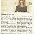 Article expo Ateliers de la Rue Raisin